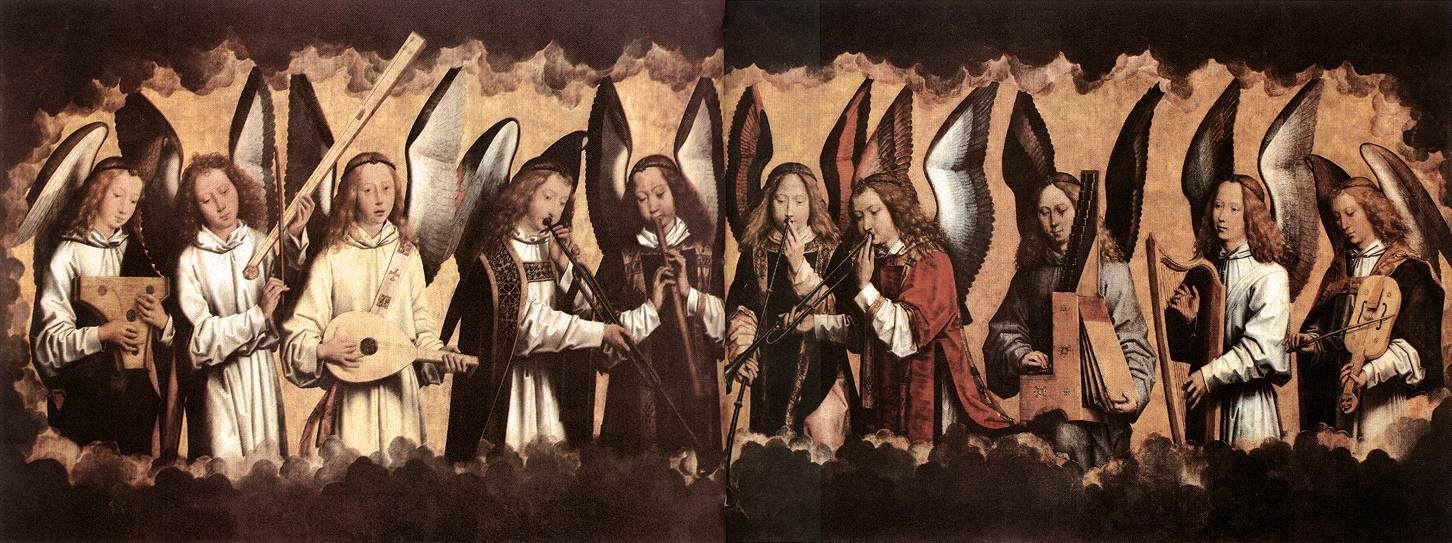 Renaissance Angel Painting Renaissance Paintings With